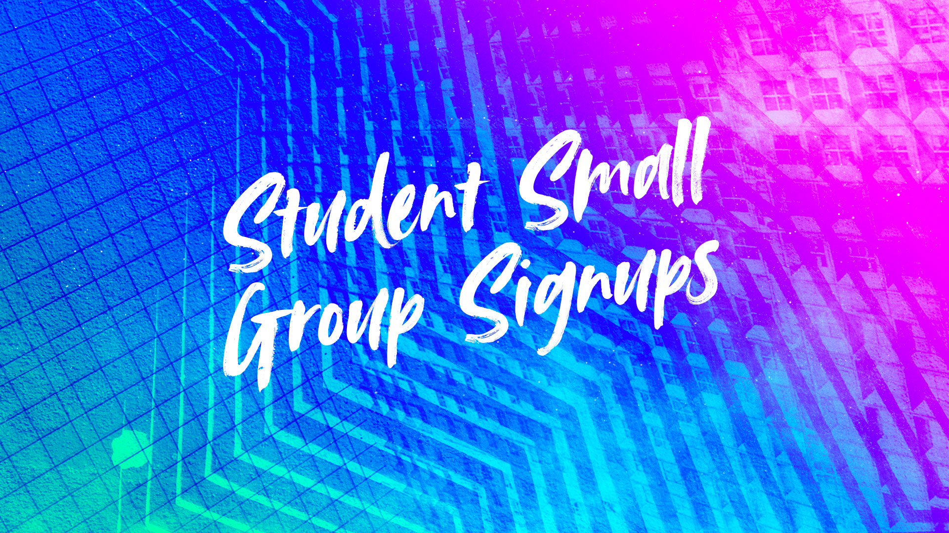 2019-20 MS78 Small Groups Registrations